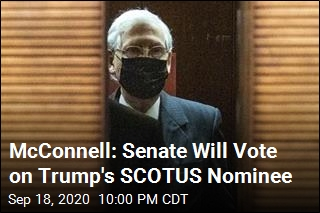 McConnell: Senate Will Vote on Trump's SCOTUS Nominee