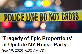 2 Dead, 14 Hurt in Shooting at Upstate NY House Party