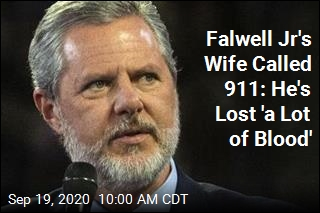 Falwell Jr's Wife Called 911: He's Lost 'a Lot of Blood'