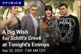 A Big Wish for Schitt's Creek at Tonight's Emmys