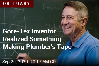 Gore-Tex Inventor Realized Something About Plumber's Tape