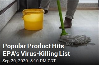 Everyday Product Gets Added to EPA's List of Virus Killers
