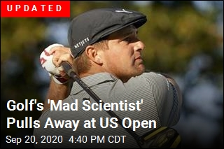 Golf's 'Mad Scientist' Pulls Away at US Open