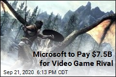 Microsoft to Pay $7.5B for Video Game Rival