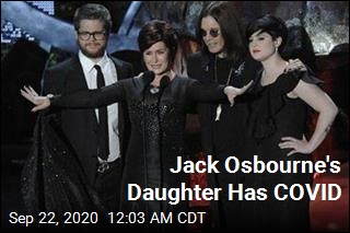 Jack Osbourne's Daughter Has COVID