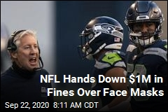 NFL Fines 3 Coaches Over Face Masks