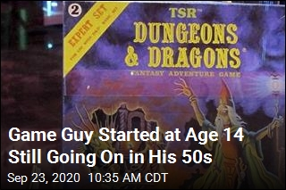 This Guy Has Been Playing the Same Game of D&D Since 1982