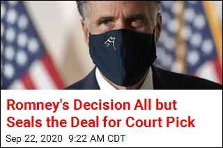 Romney: I Won't Block Court Nomination