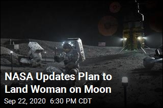 NASA Rolls Out Plan to Land First Woman on Moon