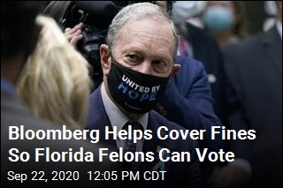 Bloomberg Helps Cover Fines So Florida Felons Can Vote