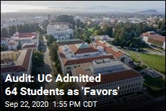Audit: UC Admitted 64 Students as 'Favors'