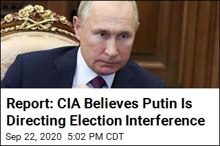 Report: CIA Suspects Putin Is Directing Election Meddling