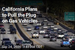 California to Ban New Gas-Powered Cars by 2035