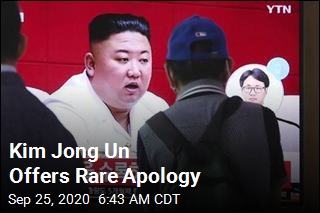Kim Jong Un Offers Rare Apology