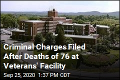 Criminal Charges Filed After Deaths of 76 at Veterans' Facility