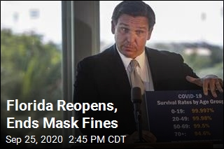 Florida Reopens, Ends Mask Fines