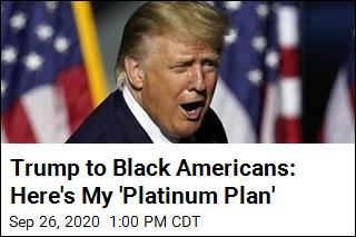 Trump to Black Americans: Here's My 'Platinum Plan'
