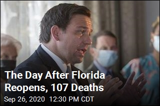 The Day After Florida Reopens, 107 Deaths