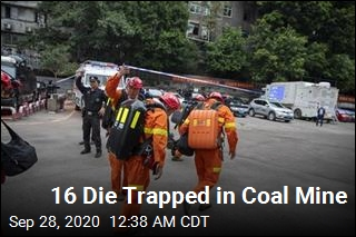 16 Die Trapped in Coal Mine