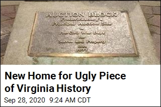 New Home for Ugly Piece of Virginia History