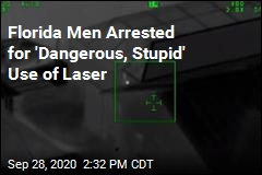 Florida Men Arrested for Shining Lasers at Police Helicopter