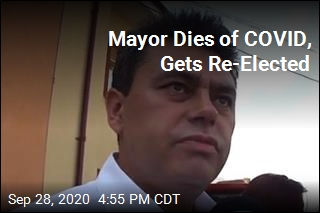 Mayor Dies of COVID, Gets Re-Elected