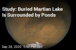 Salty Lake, Ponds May Lie Under Mars' South Pole