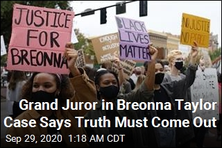 Grand Jury Recording Will Be Released in Breonna Taylor Case