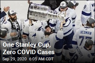 One Stanley Cup, Zero COVID Cases