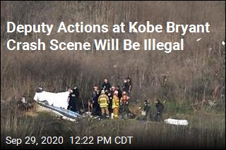Photos of Kobe Bryant Crash Scene Prompt New Law