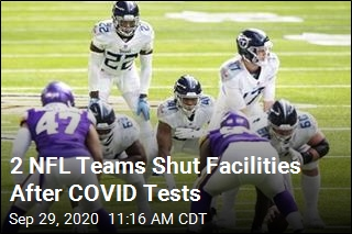 2 NFL Teams Shut Facilities After COVID Tests