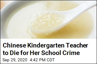 Chinese Kindergarten Teacher to Die for Her School Crime