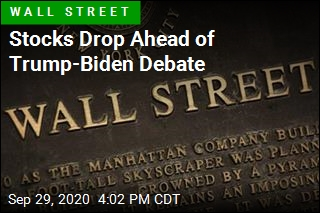 Stocks Drop Ahead of Trump-Biden Debate