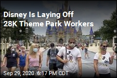 Disney Is Laying Off 28K Theme Park Workers