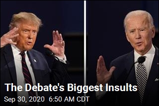 The Debate's Biggest Insults
