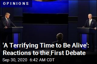 'A Terrifying Time to Be Alive': Reactions to the First Debate