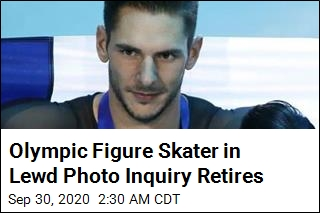 Olympic Skater Who Allegedly Sent Lewd Pics to Teen Retires