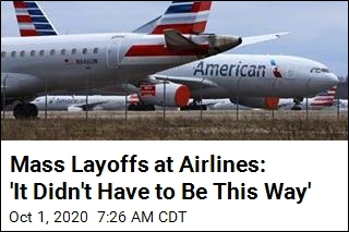 With No Deal Reached, Airlines Begin Mass Layoff