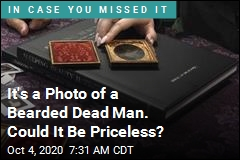 It's a Photo of a Bearded Dead Man. Could It Be Priceless?