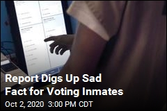 New Report Reveals Sad Fact for Voting Inmates