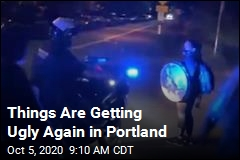 Things Are Getting Ugly Again in Portland