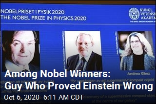 Behind This Year's Physics Nobel: 'Extremely Heavy Object'