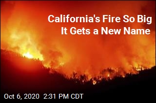 California Has to Bust Out New Word to Describe Fire