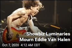 Showbiz Luminaries Mourn Eddie Van Halen
