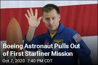 Boeing Astronaut Pulls Out of First Starliner Mission