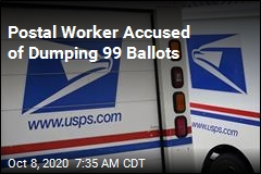 Postal Worker Accused of Dumping 99 Ballots