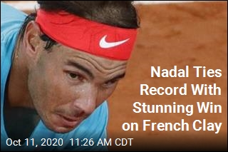 Nadal Ties Record With Stunning Win on French Clay