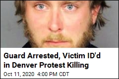 Security Guard Jailed After Shooting at Denver Protests