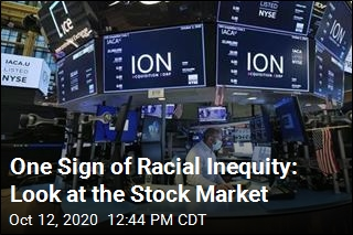 One Sign of Racial Inequity: Look at the Stock Market