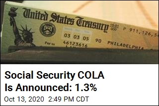 Social Security Checks Are Going Up 1.3%
